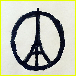 Jean Jullien's Eiffel Tower is for Paris Peace