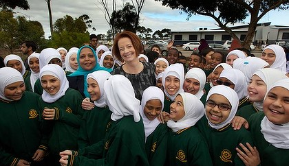 Julia Gillard encouraged islamic only education