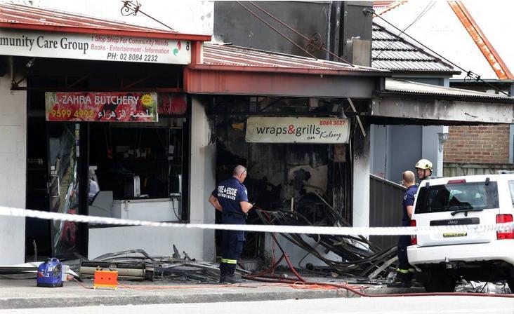 Arncliffe shop fire suspicious