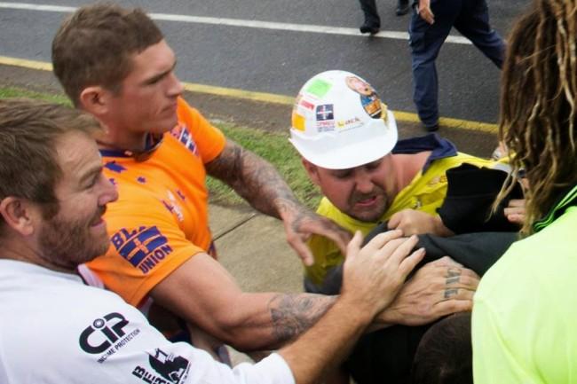 CFMEU Assault against AFP in Brisbane