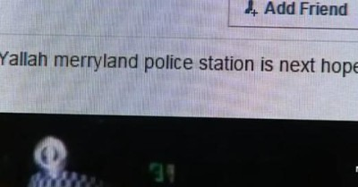Islamic threat to Merrylands police station