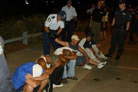 Lebanese Gangs enroute to Cronulla