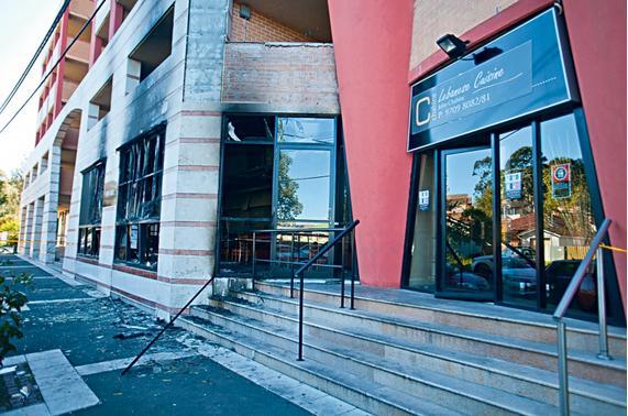 Lebanese Restaurant Arson in Sydney