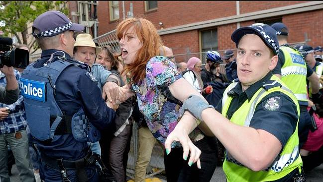 Mel Gregson Serial Police Pest