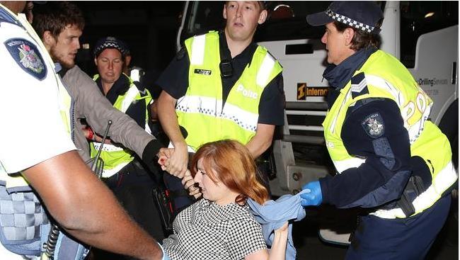 Mel Gregson arrested
