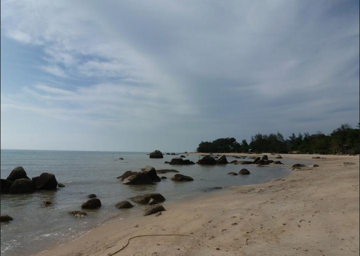 Radji beach, Banka Island