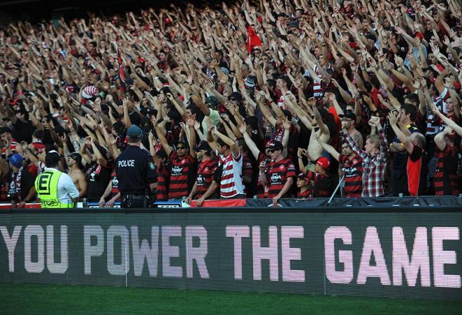 Red and Black Bloc Fascist Salute