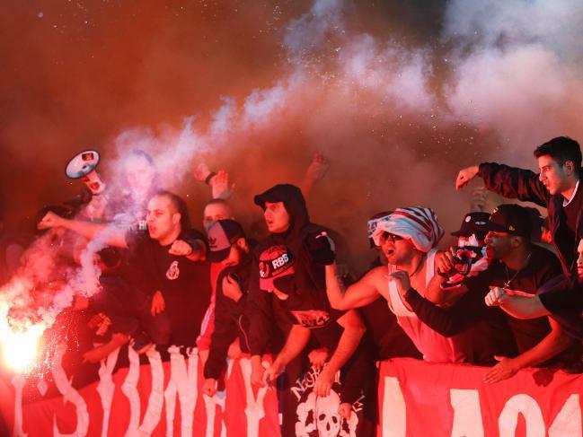 Sydney Wanderers fans ex NRL Bulldogs thugs