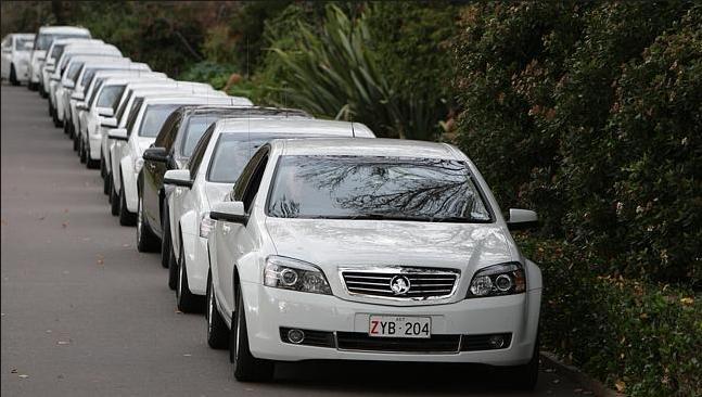 Australia's Political Class get chauffeurs on tap