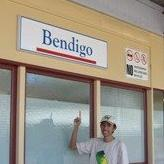 Bendigo copping the Islamic finger