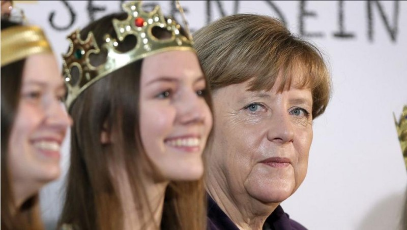 German women attacked an Merkel does nothing
