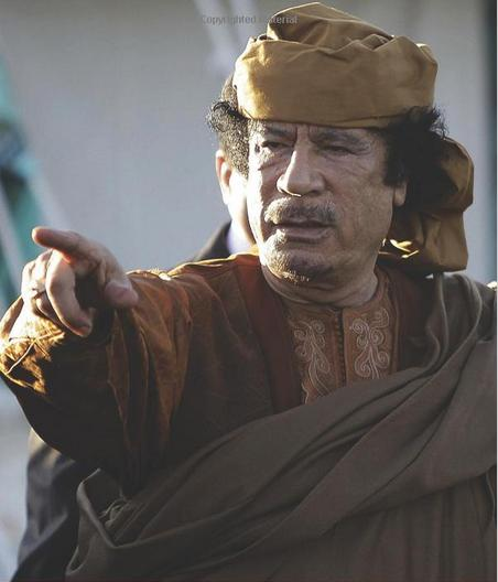 Libya's Ruler of barbaric North Africans