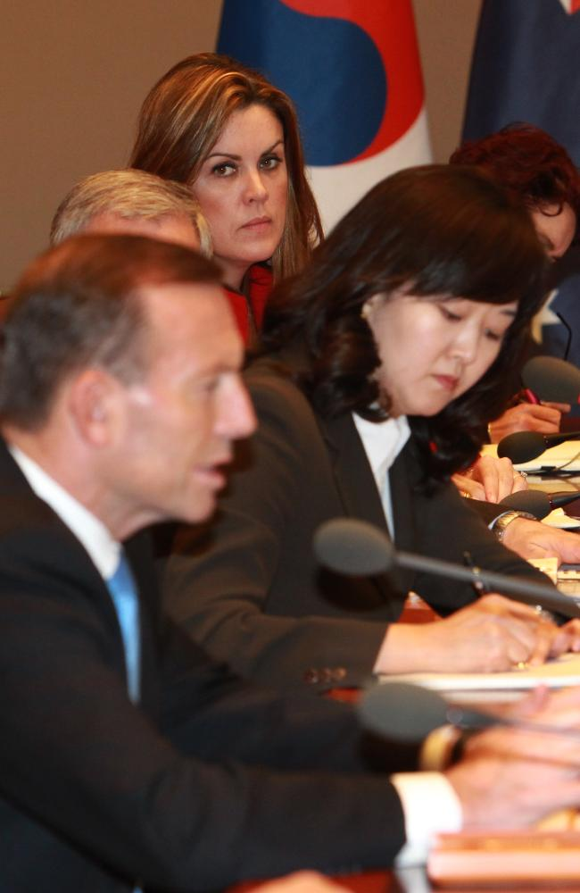Tony Abbott's Chief of Staff, Peta Credlin