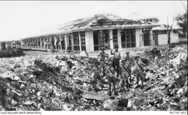 Darwin Hospital bombed by the Japanese in 1942