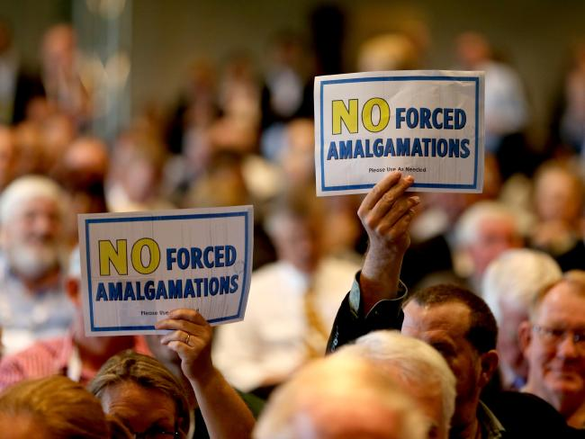 No Forced Amalgamations