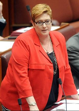 Serving Defence Minister Marise Payne