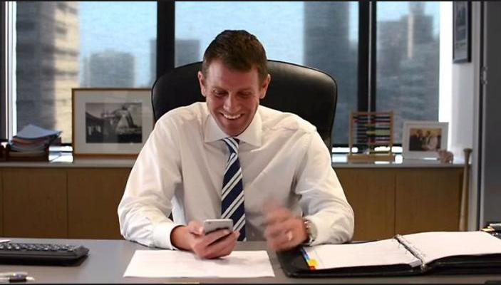 Smiling Mike Baird