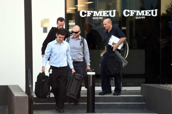 CFMEU office raided by Federal Police