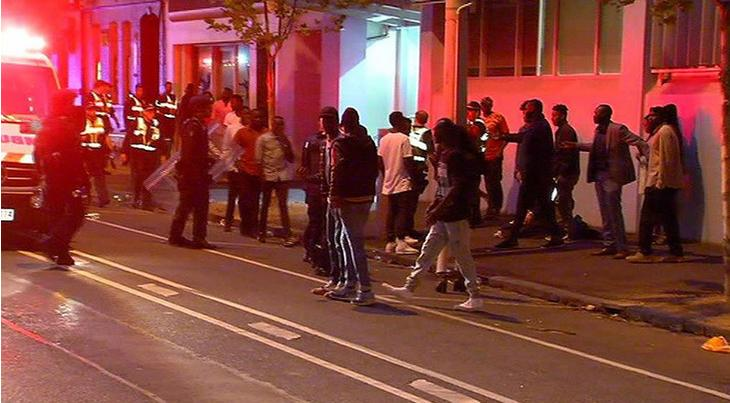 Melbourne Gang Brawl