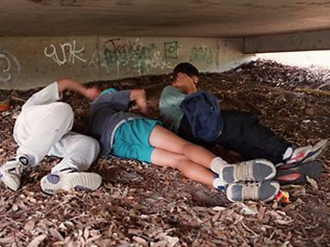 More than a quarter of all homeless Australians are under the age of 18