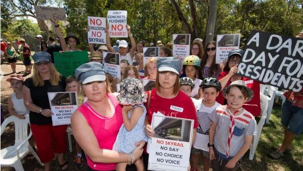 Murrumbeena Resident Skyrail Protest