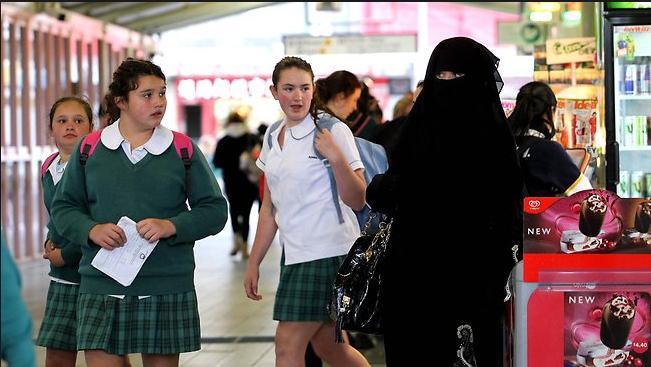 Muslims frightening children