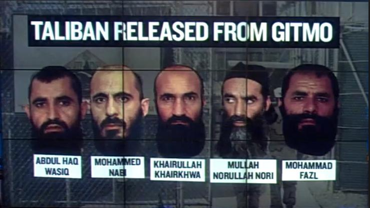 Obama Taliban released from Gitmo
