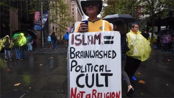 Protest against Islam