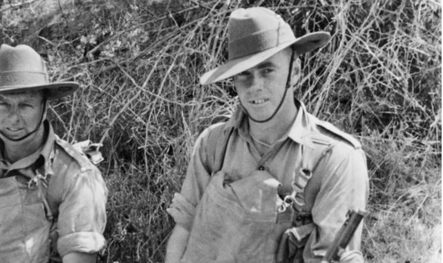 Australian Infantry Corporal Jack Hurst VC