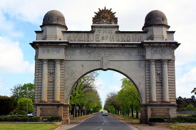 Ballaarat Arch of Victory
