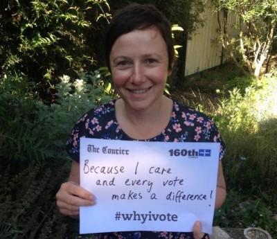 Ballaarat Greens Councillor Belinda Coates