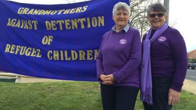 Cath McDonald and Pauline McKenzie