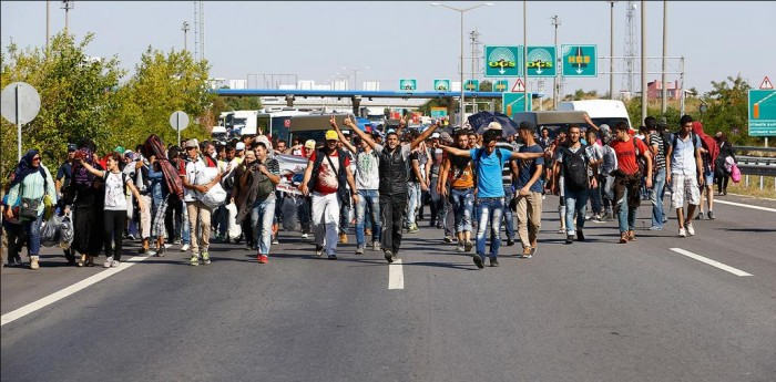 Exodus of Economic Illegals to Europe