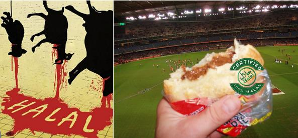Four'n Twenty pie at the footy