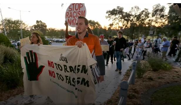Left support Islamic Mosque Invasions