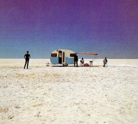 Old Aussie men resorting to caravans