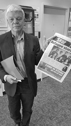 Dr Jim Saleam in St Marys