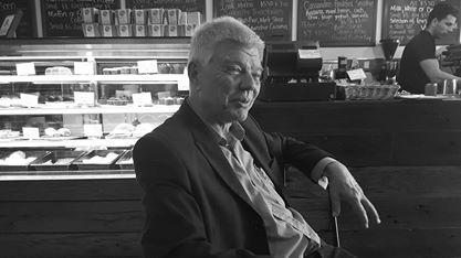 Jim Saleam on the hustings in Lindsay