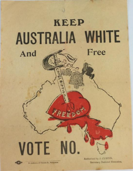 Keep Australia White and Free