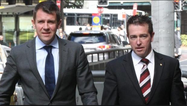 Mike Baird and Paul Toole lying Nazis