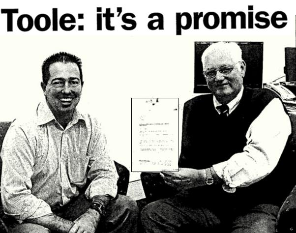 Paul Toole No Merger Pledge March 9, 2011