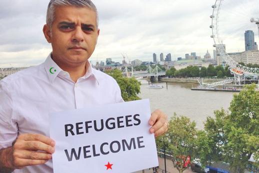 Sadiq Khan converting London to Islam