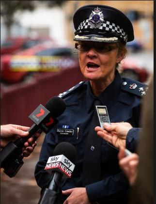 Victorian Police Commander Sharon Cowden