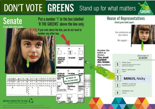 Vote Greens in the Senate