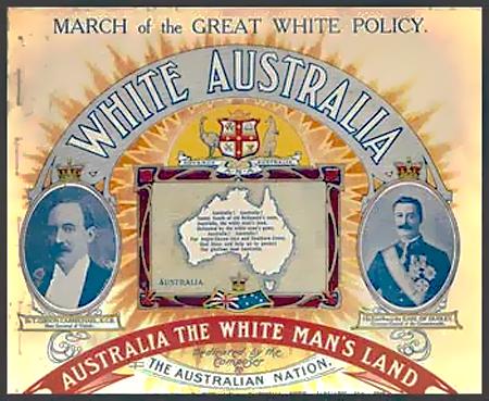 White Australia March 1910