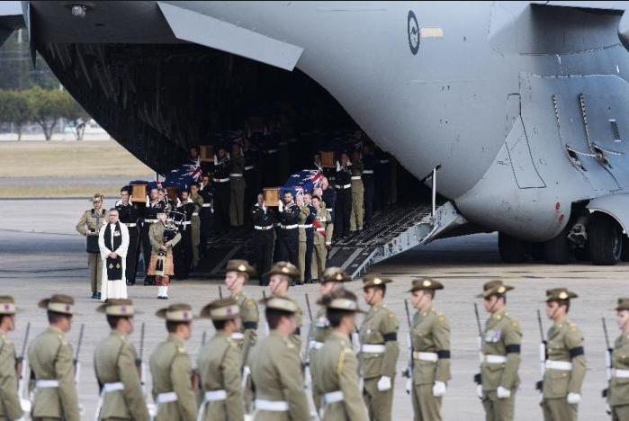 Australians repatriated from Vietnam War