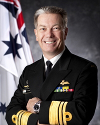 Chief of Navy Australia, Vice Admiral Tim Barrett