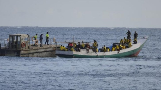 People Smugglers ready in Indonesia