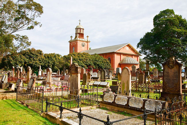 St Matthews Anglican Church Cemetery