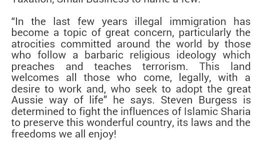 Steven Burgess Manifesto